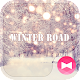 Beutiful Wallpaper Winter Road Theme apk