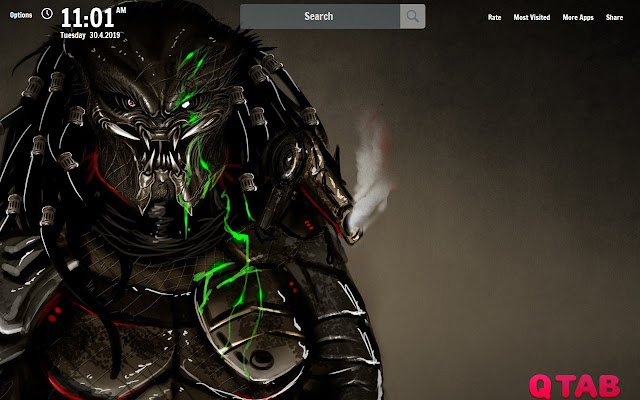 The Predator Wallpapers The Predator New Tab
