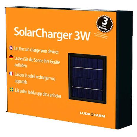 Solpanel 3 Watt till 20-014 Luda FenceAlarm *
