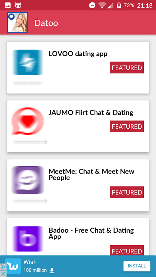 DATOO: Best Dating Apps for Singles. Chat & Flirt!- screenshot