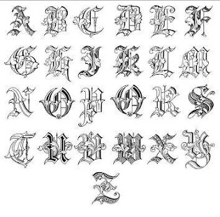 lettering for tattoos