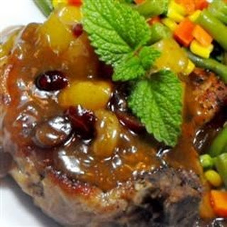 Sherry Apple Pork Chops