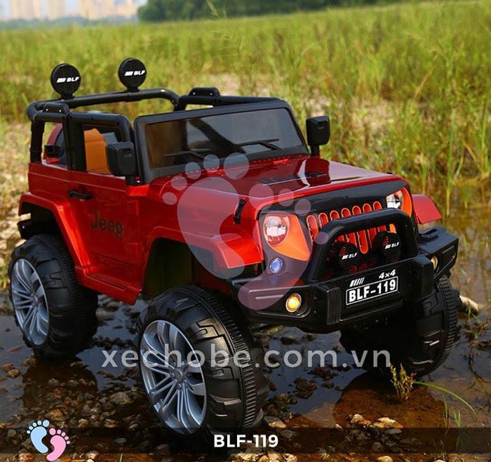 Xe ô tô điện địa hình BLF-119 6