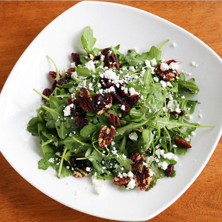 Arugula & Toasted Walnut Salad