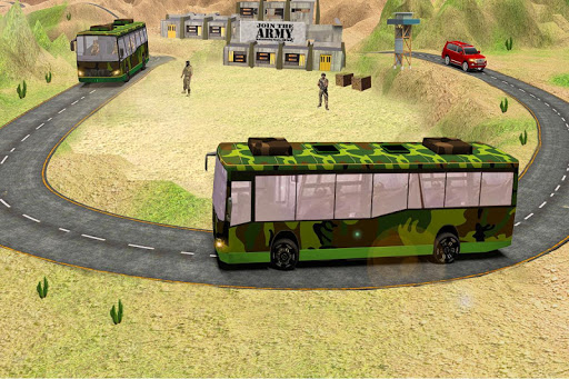 indian army bus driving: military truck mission 1.0 screenshots 11