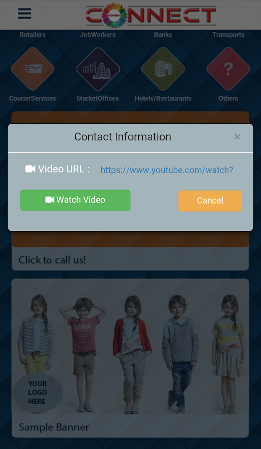 Connect Textile Directory- screenshot