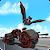 Flying Superhero Robot Transform Bike City Battle file APK Free for PC, smart TV Download