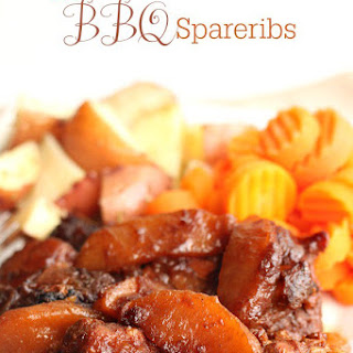Apple Butter BBQ Spareribs