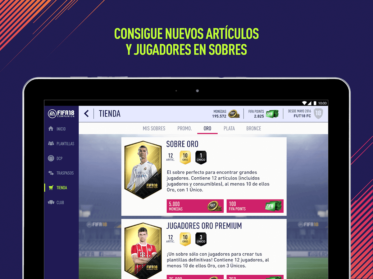EA SPORTS™ FIFA 18 Companion: captura de pantalla