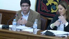 Alexis Pineda en el último Pleno.