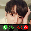 Jungkook Call You - Jungkook BTS Fake Video Call icon