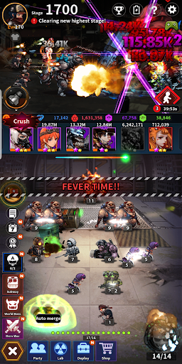 Merge Zombie: idle RPG 1.6.7 screenshots 6