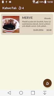 Kahve Falı - náhled