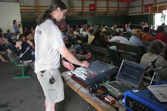 Photo: Ian Hamlin: sound