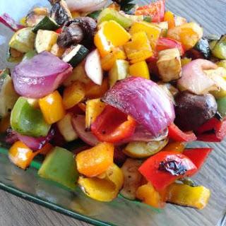 Balsamic Grilled Vegetables.