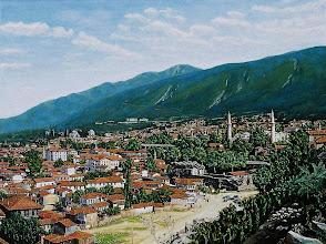 Photo: 1910 Eski Bursa Oil on canvas 120 x 90 cm