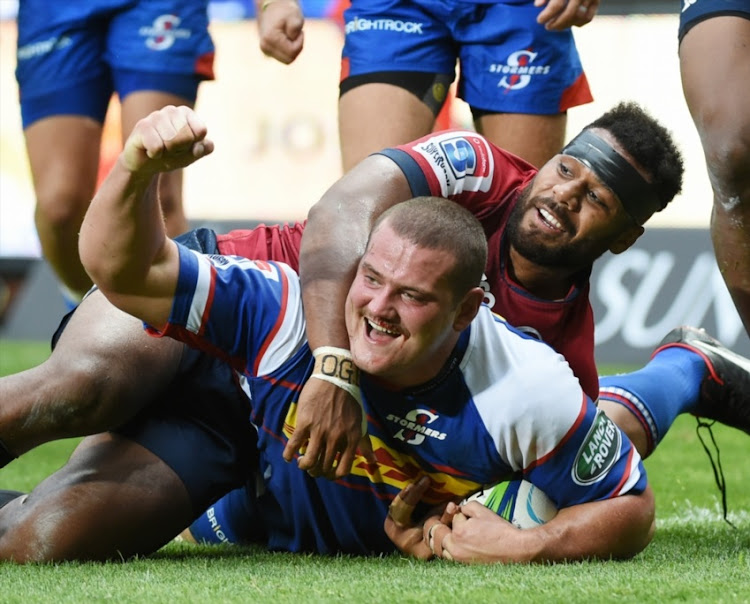 Wilco Louw of the Stormers during the Super Rugby match between DHL Stormers and Reds at DHL Newlands Stadium on March 24, 2018 in Cape Town.