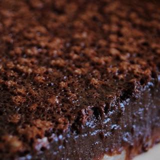 Chocolate Chess Pie II.