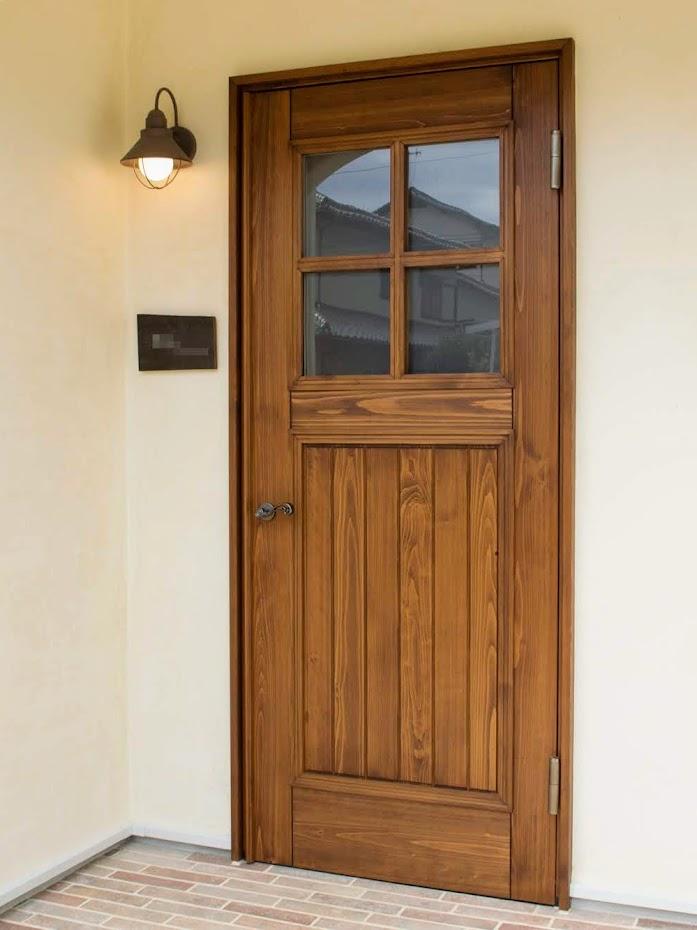 木製玄関ドア1