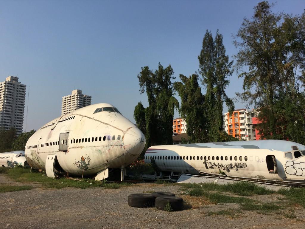 Image result for 3. Bangkok Airplane Graveyard
