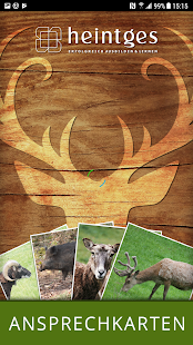 Heintges Jagd-APP - Ansprechen von Schalenwild Screenshot