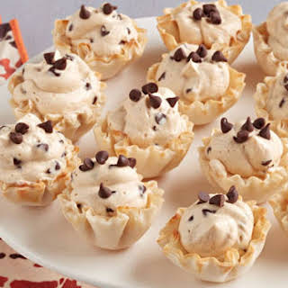 Quick Peanut Butter-Chocolate Mousse Cups.