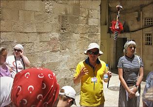 Photo: Иерусалим. Наш гид Влад Тельман. Говорил, что его прадедушка был руководителем немецкой компартии.