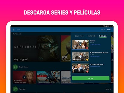 Sky: canales de TV y series Screenshot