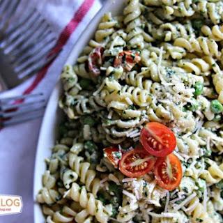 Pasta Pea and Pesto Salad