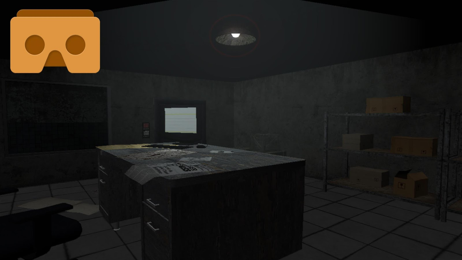 Vr scary house 3d android apps on google play for Vr house