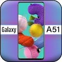 Themes for Galaxy A51: Galaxy A51 Launcher icon