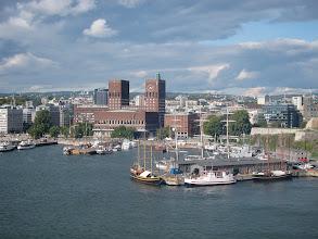 Photo: Downtown Oslo