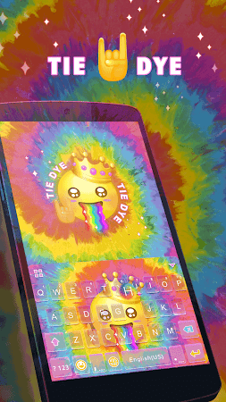Tie Dye Themefor Kika Keyboard 36.0 screenshot 903576