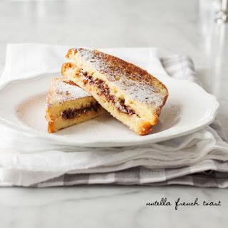 Nutella Stuffed French Toast