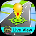 GPS Navigation Live Street View icon