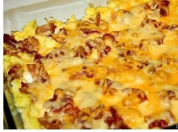 Egg Scrambled  Lasagna