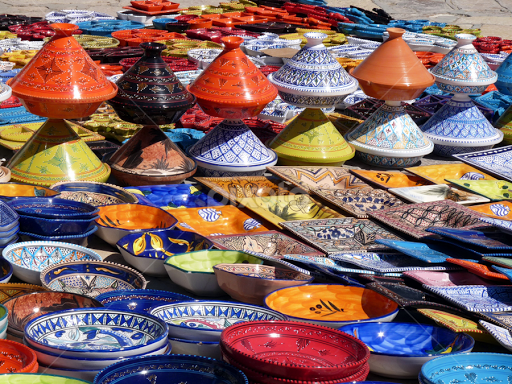 Burst of colour from Sousse medina | Other Objects