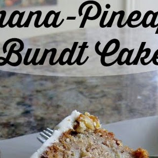 Banana-Pineapple Cake