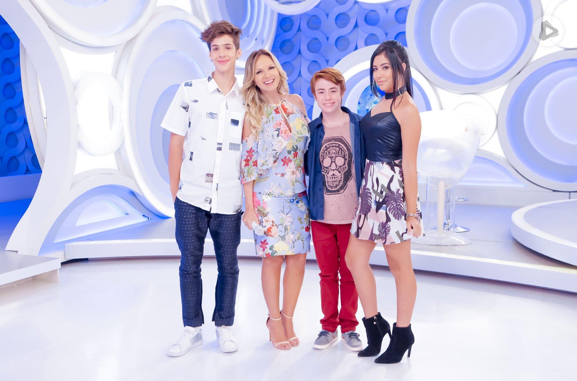 João Guilherme, Eliana, Matheus Ueta E Cinthia Cruz