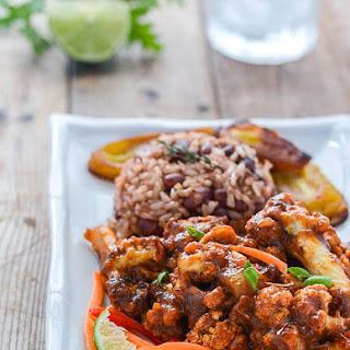 Jamaican Jerk Cauliflower.