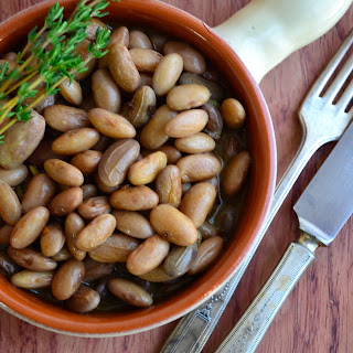 Meatless Monday – Fresh Cranberry Beans with Olive Oil & Garlic