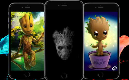 Best of BabyGroot Wallpaper HD - náhled