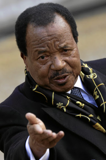 Paul Biya. Picture: SUPPLIED