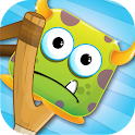 Fling Monster Slingshot Heroes icon