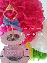 Photo: 福井県京都府ポーセラーツサロン「Ruban Bride」様ポイントカード