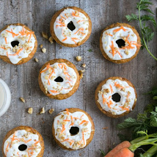 Carrot Cake Baked Donuts {Dairy-Free} Recipe