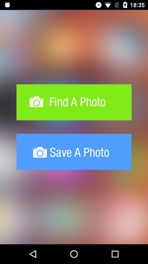 Find My Photo - στιγμιότυπο οθόνης