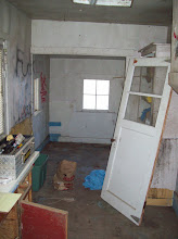 Photo: Kitchen had to be totally gutted.