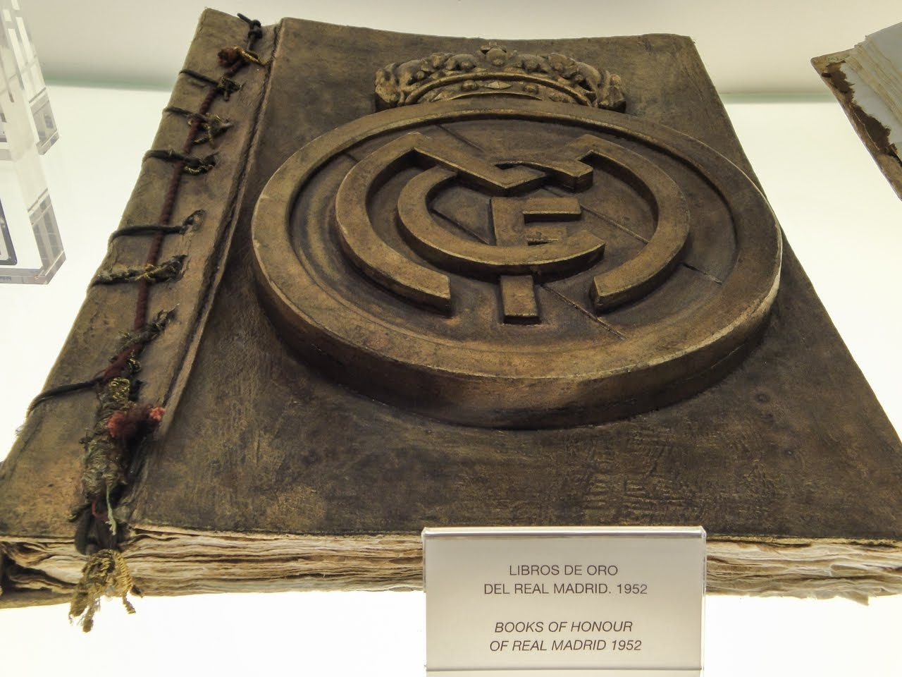 Books of Honor of Real Madrid in 1952