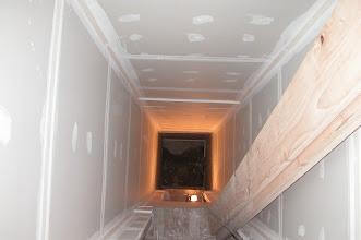 Photo: March 2005 - Month 19: Elevator shaft - no elevator